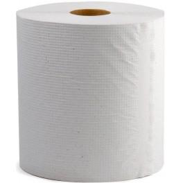 Ręcznik w roli LUX białe MAXI 6 sztuk