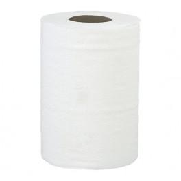 Ręcznik w roli LUX biały mini