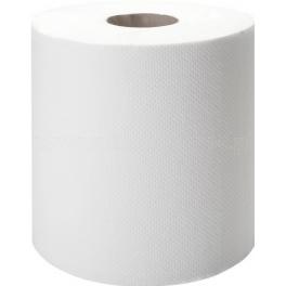 Ręcznik w roli LUX biały maxi