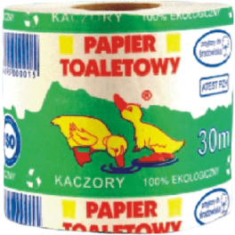 Papier toaletowy STANDARD PLUS szary 30mb