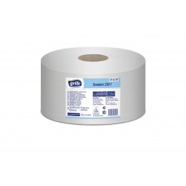 Papier toaletowy LUX biały STANDARD 230T