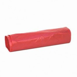 Worki LDPE 160L czerwone (25sztuk)