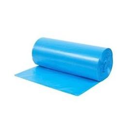 WORKI NA ŚMIECI HDPE 60L niebieskie (50 sztuk)