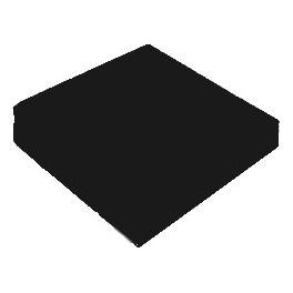 SERWETKA gastronomiczna 24x24 czarna 2w 200szt